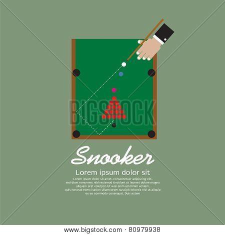 Snooker Playing.