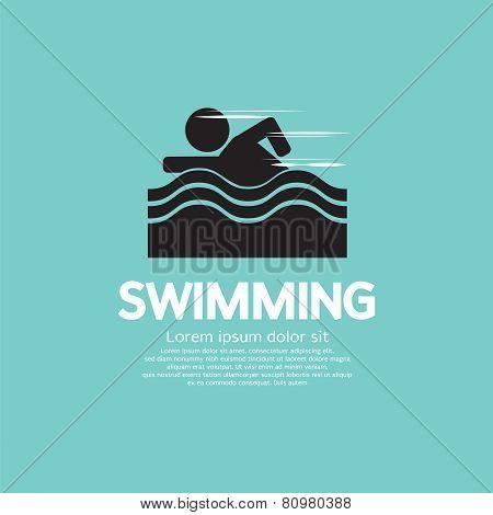 Swimming.