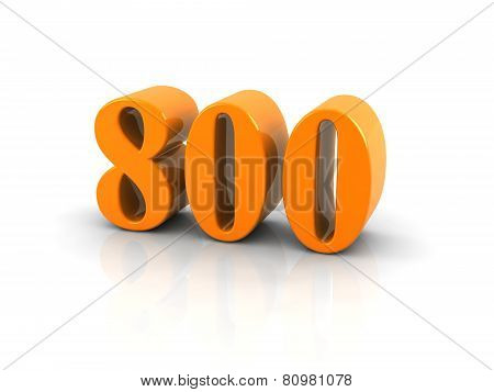 Number 800