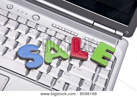 Internet Sale Concpet