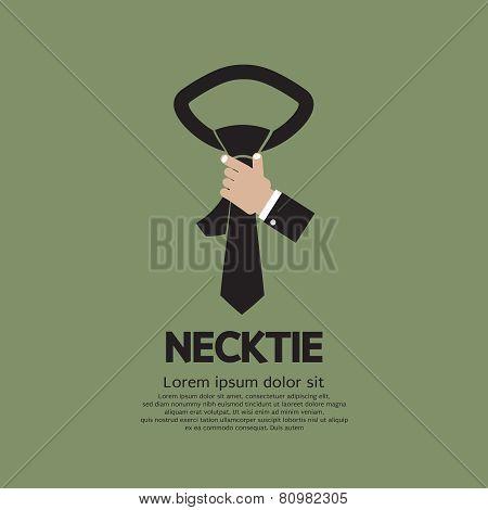 Black Necktie.