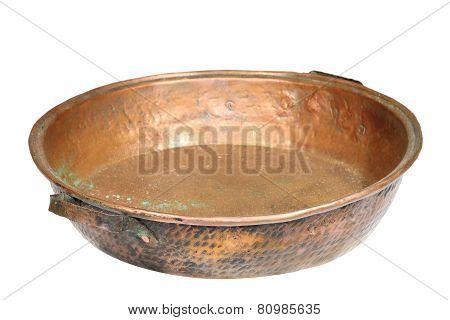 Bronze Isolated Cauldron
