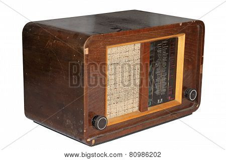 Very Old Isolated Radio