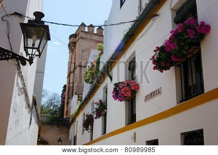 Old town buildings, Seville.