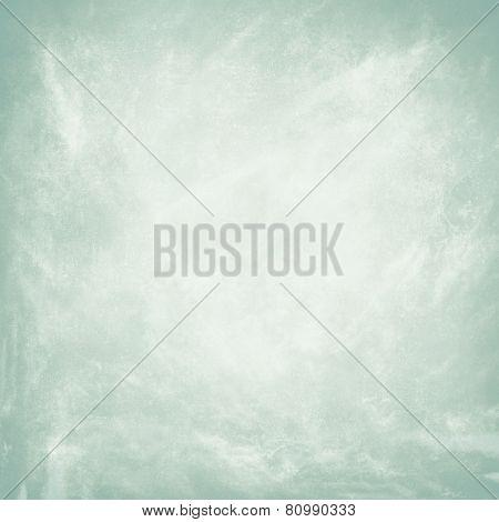 Grunge pale blue background
