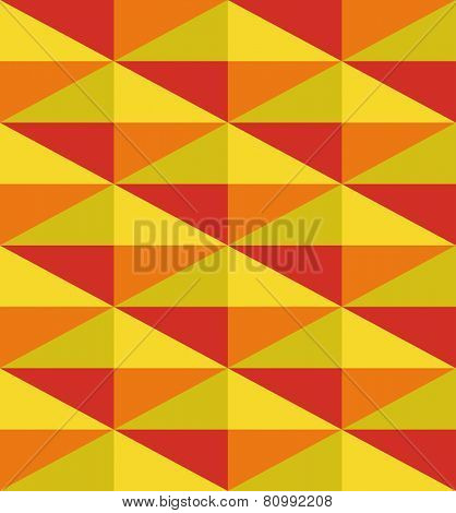 seamless geometric pattern from triangle. eps8