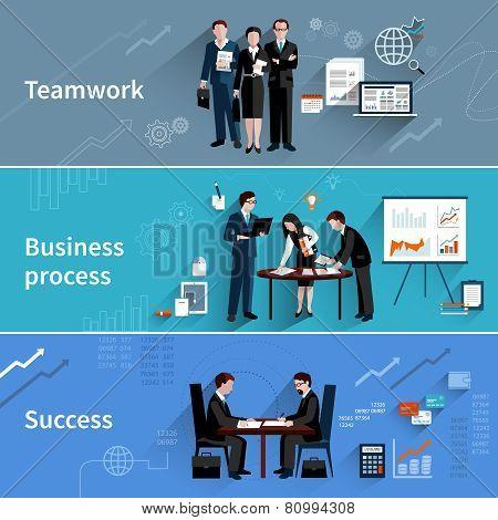 Teamwork Banners Set