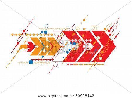 Arrow Abstract Design