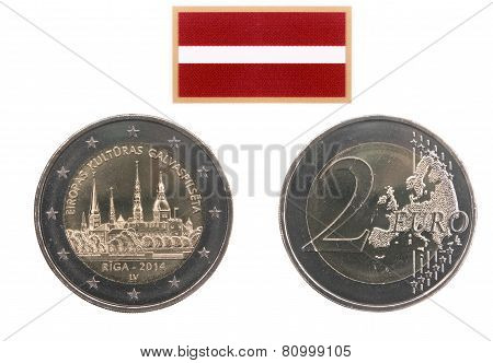 Commemorative Coin Of Latvia