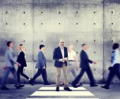 foto of role model  - Business Man Individuality Role Model Modern Organization Concepts - JPG