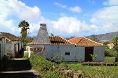foto of rebuilt  - Many old houses are rebuilt and inhabited on Canary Island La Palma - JPG