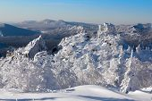 pic of ural mountains  - Snow - JPG