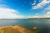 picture of u-boat  - Taughthaman lake  - JPG