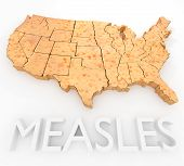 foto of membrane  - An illustration related to the Measles Virus outbreak in the United States - JPG