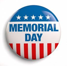 foto of memorial  - Memorial day text icon design - JPG