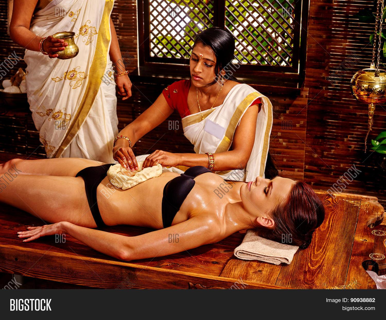 indian girl spa