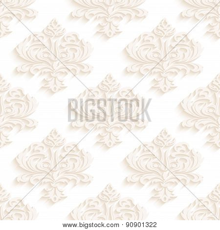 Seamless wallpapers in the style of Baroque . Can be used for backgrounds and page fill web design.