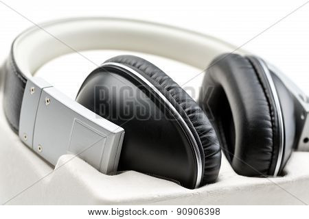 Headphones Close-up