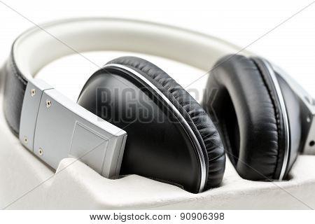 Headphones Close-up