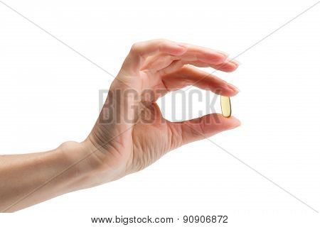 Omega 3 In Female Fingers
