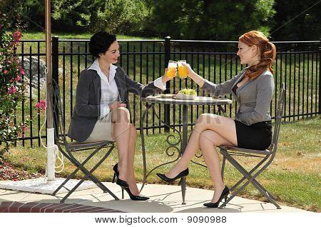 Girlfriends On A Lunch Break