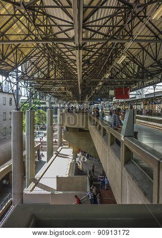 Subway Of Medellin Colombia