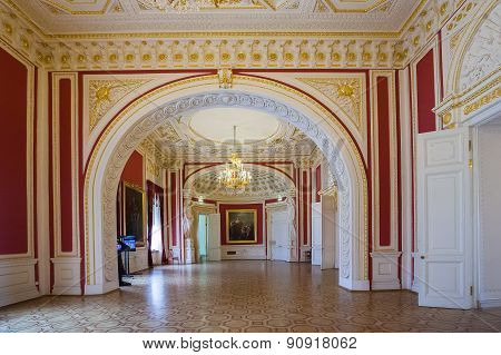 Interior Of Engineer's Castle (mikhailovsky Castle), St. Petersburg