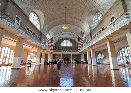 Ellis Island Registry Hall