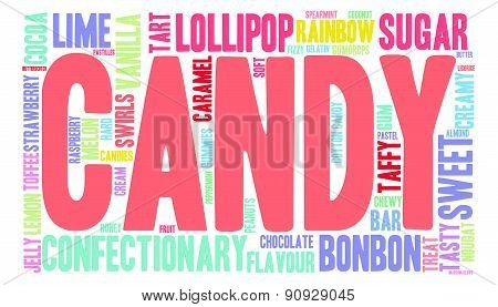 Candy Word Cloud