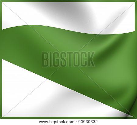 Flag Of Emilia-romagna, Italy.