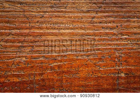 background texture of  grained, scratched, grunge wood board