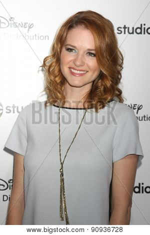 LOS ANGELES - MAY 17:  Sarah Drew at the ABC International Upfronts 2015 at the Disney Studios on May 17, 2015 in Burbank, CA