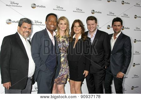 LOS ANGELES - MAY 17:  Code Black Cast at the ABC International Upfronts 2015 at the Disney Studios on May 17, 2015 in Burbank, CA