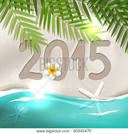 2015 New Year Postcard