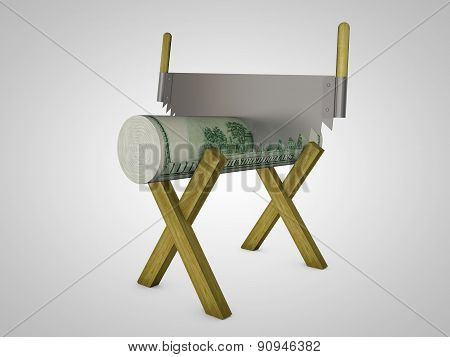 Conceptual Image Of The Cut Funds