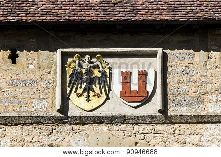 Emblem Of Rothenburg Ob Der Tauber, Kobolzell Gate
