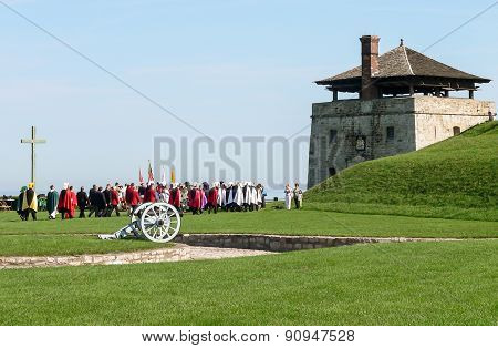 Old Fort Niagara - Historical Parade