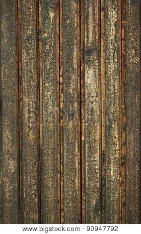 Old wooden surface with cracks