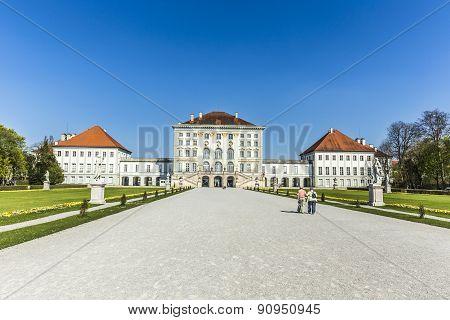 Nymphenburg Castle Grounds In Munich