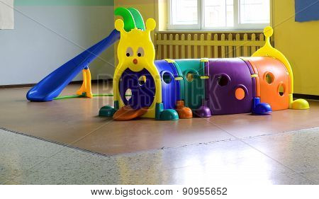Plastic Tunnel For Children's Play In Nursery Furniture
