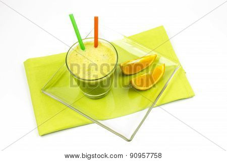 Matcha, Green Tea, Orange