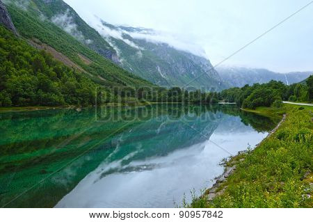 Mountain Lake With Clean Water (norway).
