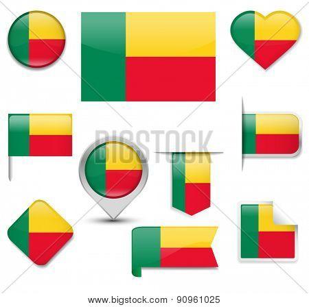 Benin Flag Collection