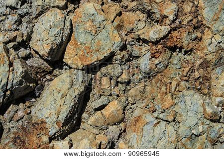 Natural slate rock background