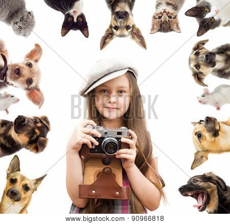 Set Pet And Child Photographer