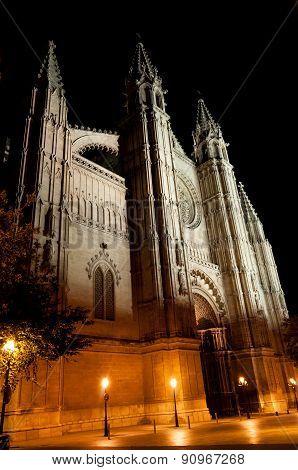 Cathedral Of Palma De Mallorca, Balearic Islands, Spain