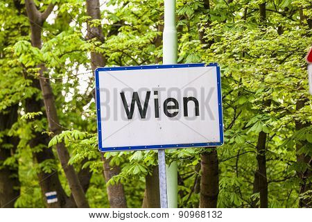 City Limit Of Vienna