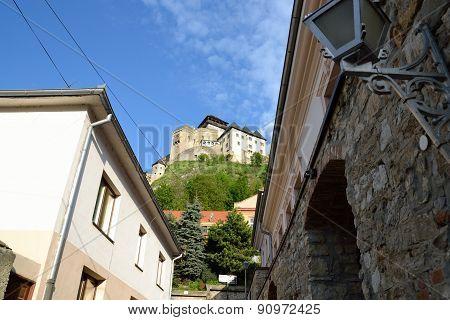 Tren?ín Castle in Slovakia