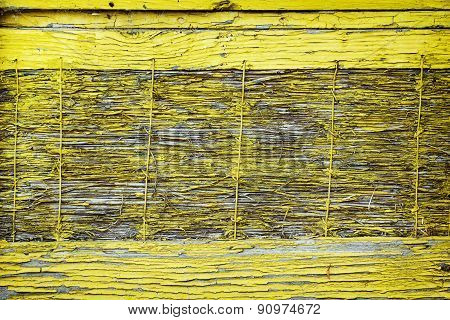 Old Wooden Yellow Material