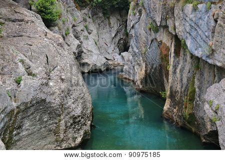 River In The Green Canyon